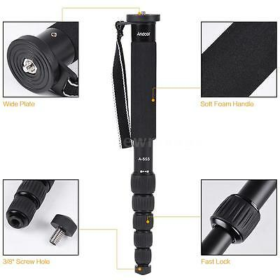 Andoer 6-Section Compact Portable Photography Monopod Unipod Stick Adjustable