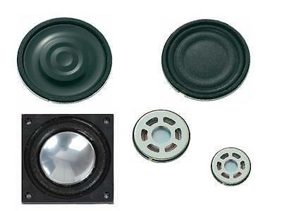 Sub Mini Speakers from 50mm to 13mm diameter 8 ohm for Model Railway systems
