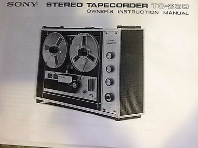 Sony Stereo 4 Track Tape Recorder