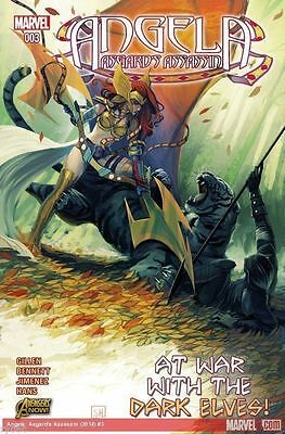 Angela Asgards Assassin #3 (2015) 1St Printing Bagged & Boarded