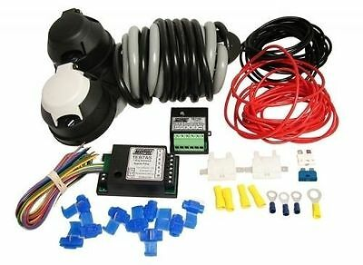 Towbar Wiring Kit Pre-Wired 12N & S Bypass and Dual Charge Relays (All you need)