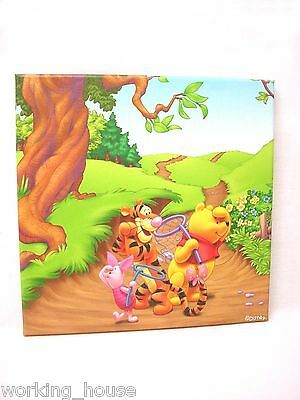 (33957) Cuadro Plotter Canvas Madera Infantil Mediano Disney Osito Winnie Pooh