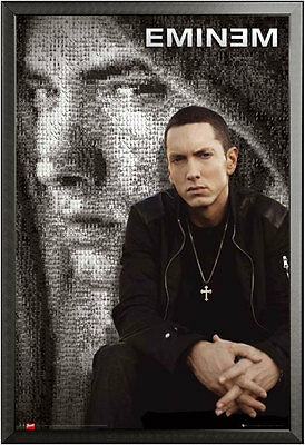 A3/A4 SIZE - Eminem - Marshall Bruce Mathers III - Actor ART PRINT POSTER #2