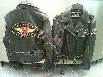 HUGE DISCOUNT £75 OFF - Victory - Classic Brown Leather Jacket