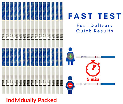 Extra Width (4mm wide) Early test ultra High Sensitivity home pregnancy test