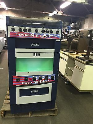 Lot of 3 VM-151 VM-251 Snack Soda Candy Combination Vending Machines