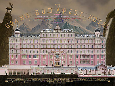 A3/A4 SIZE - THE GRAND BUDAPEST HOTEL - Movie POSTER PRINT ART #21