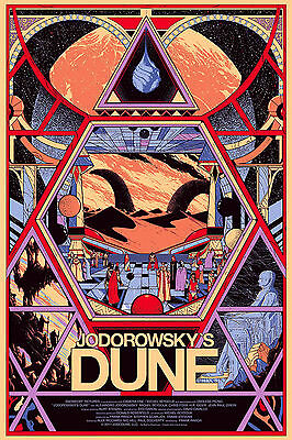 A3/A4 SIZE -  JODOROWSKY'S DUNE - Biography / Epic film Movie POSTER PRINT ART
