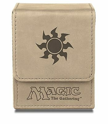 Ultra Pro White Mana Flip Box for Magic the Gathering Cards Brand New 86106 NIB