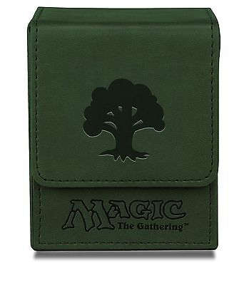 Ultra Pro Green Mana Flip Box for Magic the Gathering Cards Brand New 86110 NIB