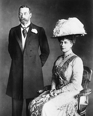 New 11x14 Photo: King George V and Queen Mary, Monarchs of England, 1914
