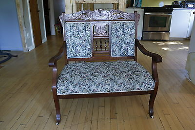 Antique Victorian Bench Furniture