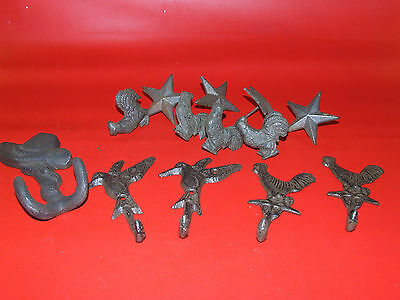 lot 13 Cast Iron Architectural  pieces what  you see is what you get
