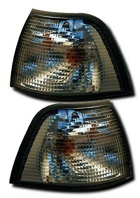 Bmw 3 Series E36 Saloon Compact Touring Front Indicators - Light Smoked