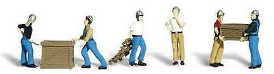 Woodland Scenics 0 Scale Figures Dock Workers Ref A 2729
