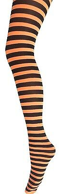Kids Stripy Tights-Children's Stripe Tights-Fancy Dress -Halloween Stripe Tights
