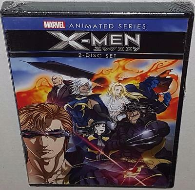 X-Men Animated Series Brand New Sealed Region 1 Dvd