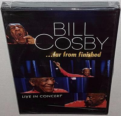 Bill Cosby Far From Finished Brand New Sealed Region 1 Dvd