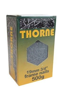 19mm gimp pins (500g box) Many uses - beehive frame nails and upholstery