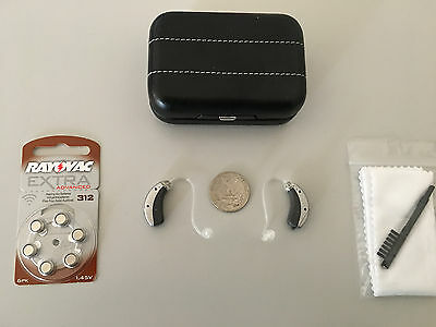 2xDigital Hearing Aids matching Pair Widex Mind 220 micro Open Fitting