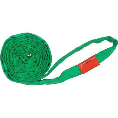 10Ft Endless Green Round Sling 6000LB Vertical