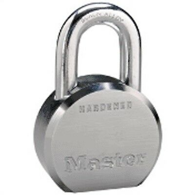 "2-1/2"" SOLID STEEL ROUND BODY HIGH SECURITY PADLOCK, Part No 623D, by MASTERLOCK"
