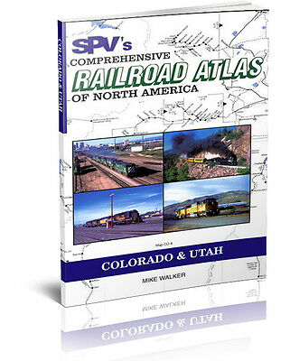 SPV Railroad Atlas Colorado & Utah - New, Latest Edition, Steam Powered Video