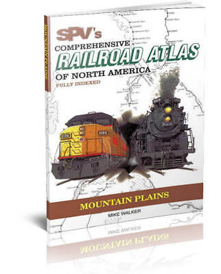 SPV Railroad Atlas Mountain Plains - New, Latest Edition, Steam Powered Video