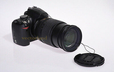 49mm Front Pinch Lens Cover Cap for Sony Alpha DSLR Camera New