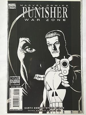 Punisher War Zone #1 Variant Sketch Cover by STEVE DILLON.