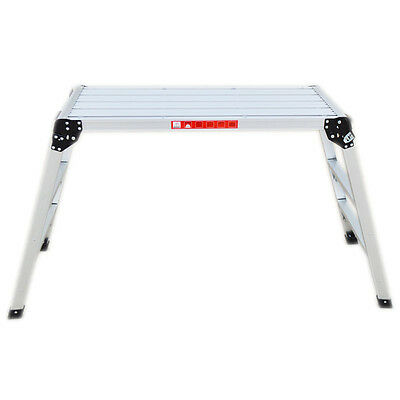 Aluminum Folding Step Multi Platform Stabilizing Feet New