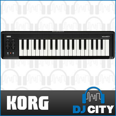 MICROKEY2-37 Korg Compact 37 Key Studio MIDI Keyboard Compatible w/ iPad/iPhone