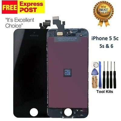 For iPhone 5 5C 5S & 6 LCD Replacement Touch Screen Digitizer Display Assembly