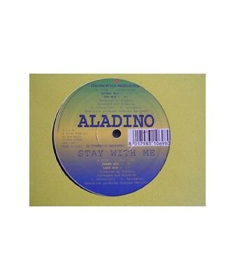 """[SX10605] Aladino """"Stay With Me""""  - 12"""" Italian Style Production ISP 1315"""
