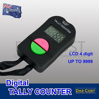 Digital Tally Counter Lcd Electronic Hand Head Clicker Bouncer Crowd Golf Number