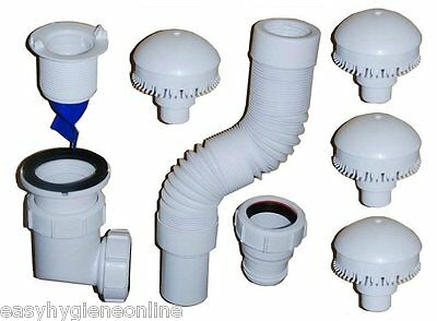 """Streamless - 1.5"""" Waterless No Water Urinal System Kit Annual Starter Pack"""