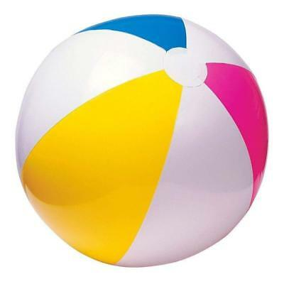 "Intex Inflatable Blowup Panel Beach Ball 24"" Party Swimming Garden Toy, NEW"