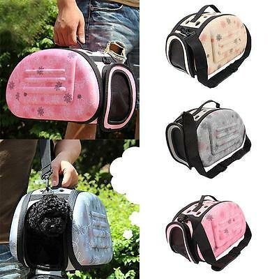 Pet Carrier Cage House Soft Sided Small Cat Dog Comfort Travel Tote Shoulder Bag