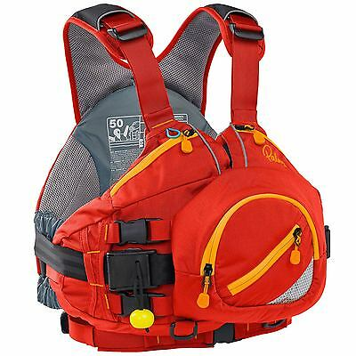 Palm Extrem White Water PFD Buoyancy Aid 2017 - Red