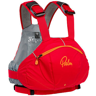 Palm FX White Water PFD Buoyancy Aid 2017 - Red