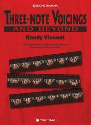 THREE NOTE VOICINGS di Randy Vincent - Ed. italiana