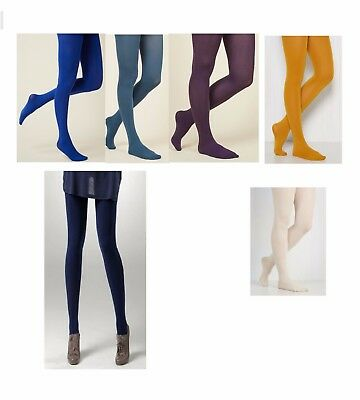 Luxury 100 Denier Opaque Tights Soft Thick Opaque Coloured Tights Medium-XLsize