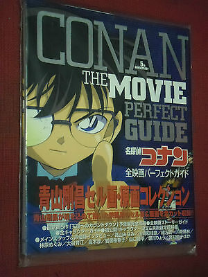 Detective Conan Illustration Book 5Th Anniversary The Movie Perfect Guide- Nuovo