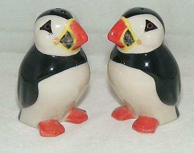 Quail Ceramics Puffins Salt & Pepper Set 171