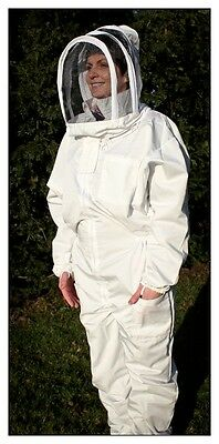 Adult Beekeeping Suit, smock, overall, bee keeping, fencing style design