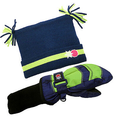 SnowStoppers Nylon Mittens and Jester Hat Set