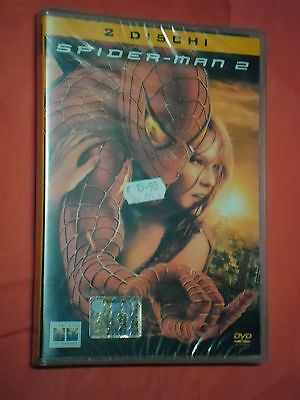 DVD  FILM-  SPIDER-MAN  2-  CONTIENE 2 DVD- SIGILLATO NUOVO- spiderman