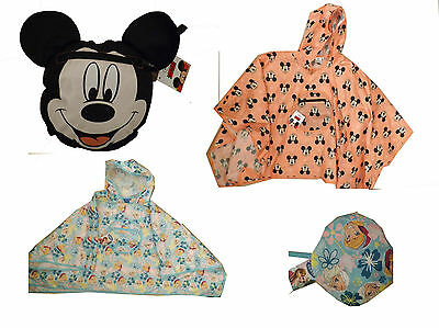 Primark kids poncho Frozen or Mickey Mouse size S (age 2-5) or M (age 5-8) BNWT