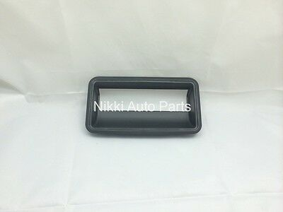 Liftgate Tailgate Bezel Textured Black Rear Back Latch Outside Handle