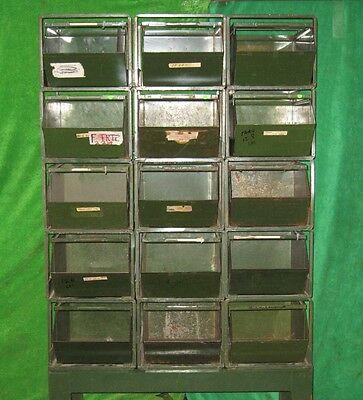 15 Stackbin #4 Stack Rack Stacking Hardware Parts Steel Storage Bin Container